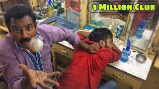 Worlds Greatest Head Massage Face Massage Part 1 - Baba The Cosmic Barber  Puremassage