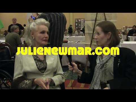 Julie Newmar  Catwoman speaks with a purrrr