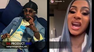 Cardi B Turning Up To Crip Rapper Pop Smoke Welcome To The Party..DA PRODUCT DVD