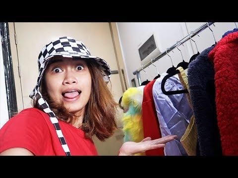 HAUL! (mga libreng damit) at makeup event naks!