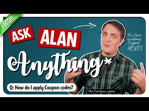 How Do I Use Coupon Codes? Ask Alan - Big Fish Games Customer Support!