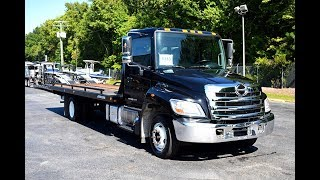 2012 Hino 258 LP with Jerr-Dan XLP Steel Bed - Stock#9233