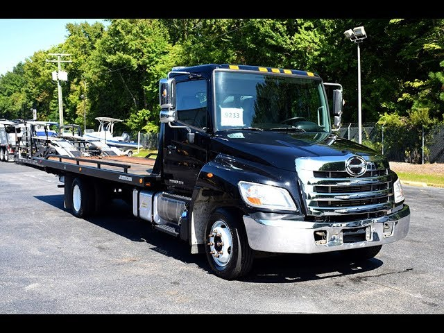 *SOLD* 2012 Hino 258 LP with Jerr-Dan XLP Steel Bed - Stock#9233