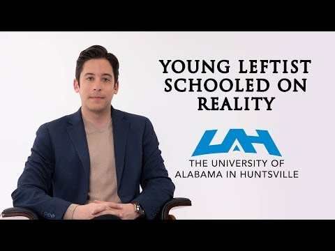 Young Leftist Schooled On Reality