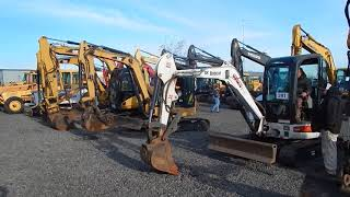 Video still for Mini Excavator Testing at J. Stout Auctions in Portland, Ore.