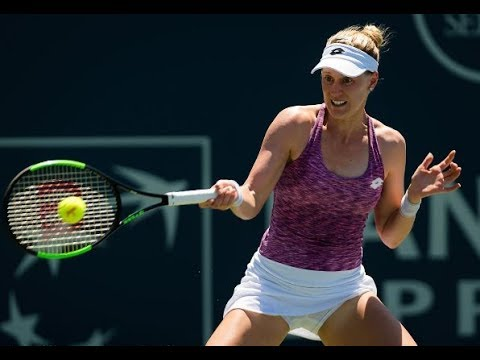 Alison Riske - Magda Linette / Round 1 / WTA Bank of the West Classic Stanford 2017