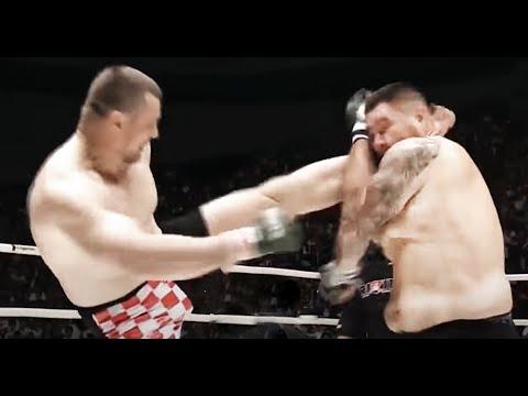 Новый бой Мирко Крокопа после травмы / Прилетело с локтя / New Fight Mirco Cro Cop