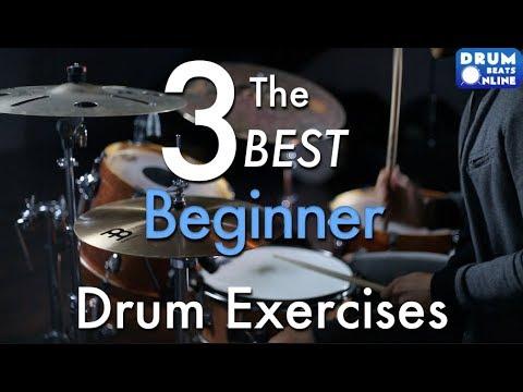 The 3 BEST Beginner Drum Exercises - Drum Lesson | Drum Beats Online