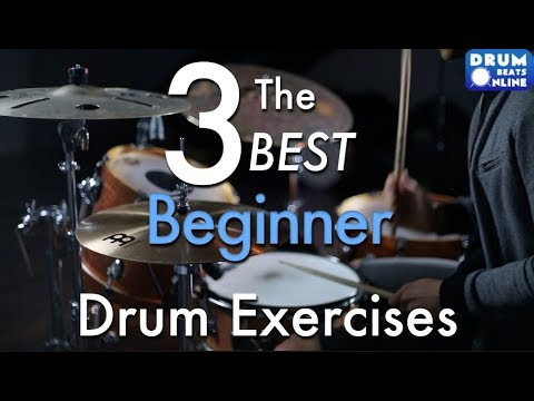 The 3 BEST Beginner Drum Exercises - Drum Lesson   Drum Beats Online