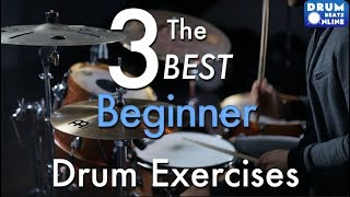 The 3 BEST Beginner Drum Exercises - Drum Lesson | Drum Beats Online