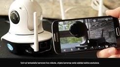 T-Cam IPC -sarjan IP-valvontakameran asennus- ja esittelyvideo