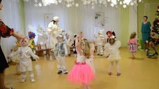 Красивый танец Новый год в детском саду Ясли