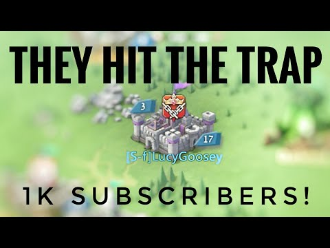 They Hit The Trap! - Lords Mobile