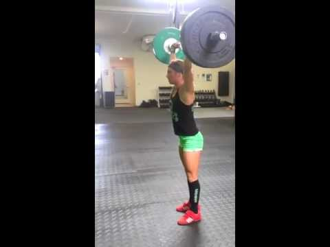 OverHead Lunges 5x8 #135 ANDREA AGER