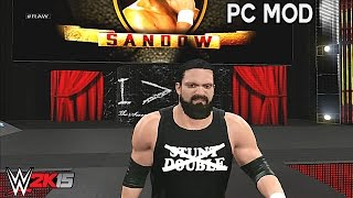 WWE 2K15 PC Mods - Damien Sandow Updated Entrance ( 2015 )