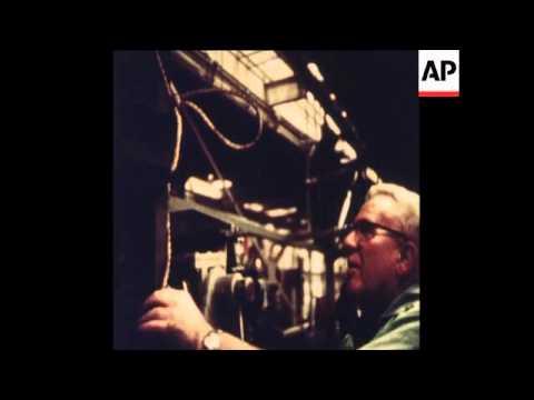 SYND 21/12/1972 BOEING SST MOCKUP DISMANTLED
