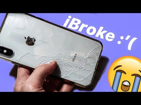I Shattered My IPhone XS Max   Why You NEED AppleCare+