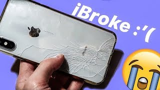 I Shattered My iPhone XS Max | Why You NEED AppleCare+