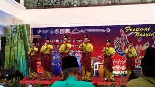 KETIGA Festival Nasyid Sekolah Peringkat Negeri Johor 2015 - Soutul Amal