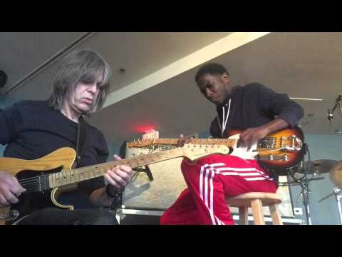 Willie Moore 3 the Guitarist & Mike Stern playing Mr. P.C