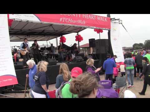 Fort Worth Texas American Heart Assoc Heart Walk 2014 Concert