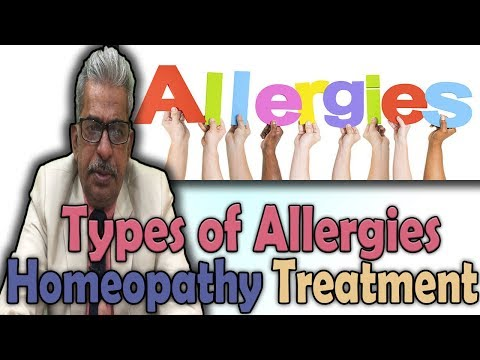 Different Types of Allergies and its Homeopathy Treatment- Dr P.S. Tiwari
