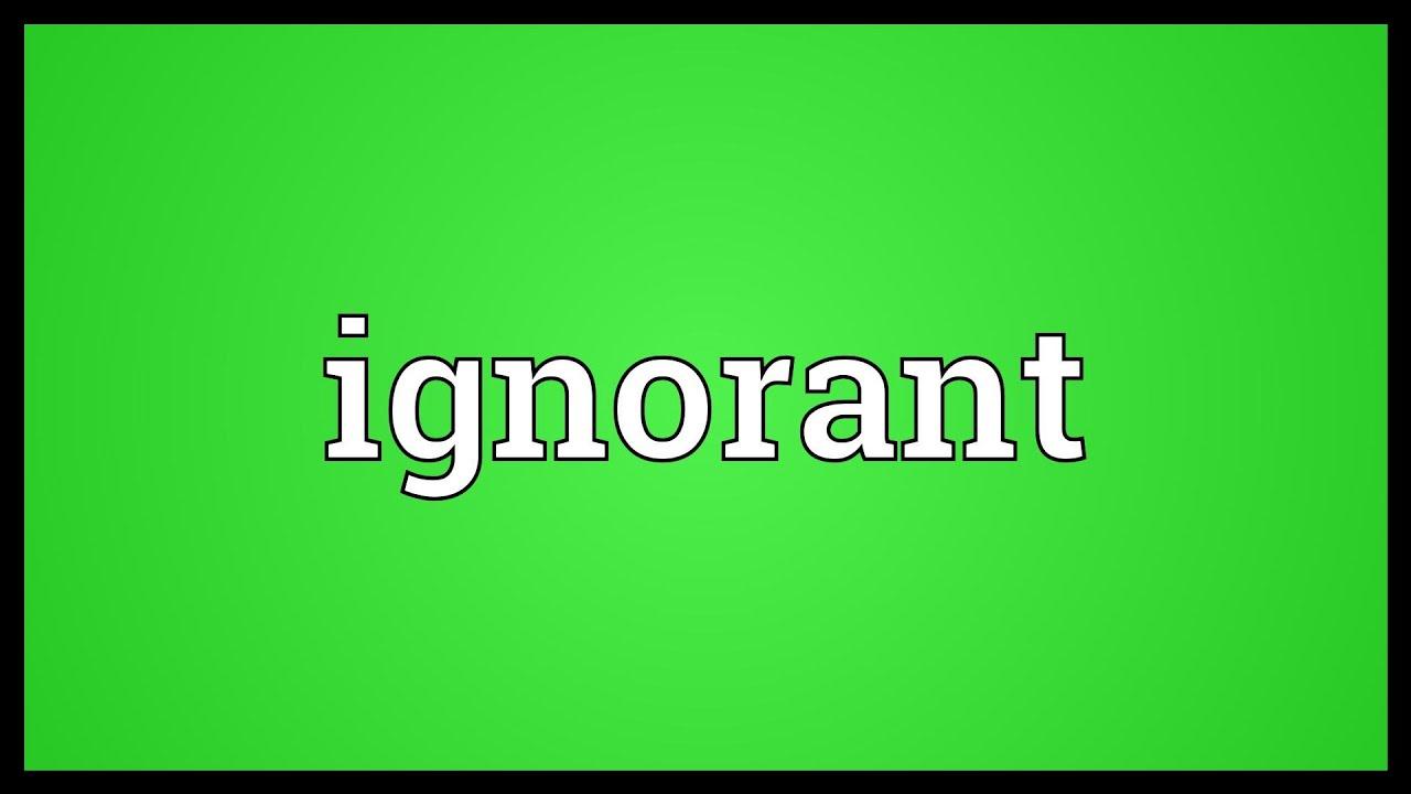 Why slaves were kept ignorant