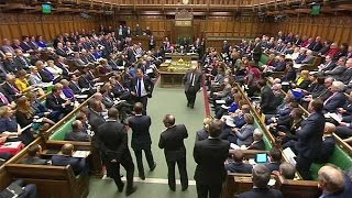 MPs back UK governments Brexit timetable in return for published plan