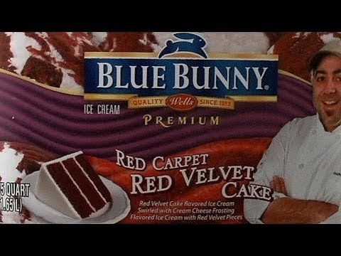 Blue Bunny Red Carpet Red Velvet Cake Ice Cream (2012) _ Food Museum