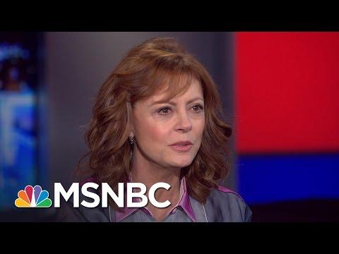 Susan Sarandon Talks Bernie Sanders, Hillary Clinton (Extended Interview)   All In   MSNBC