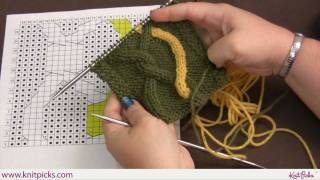 Advanced Cabling Techniques: Intarsia Cables