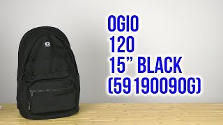 Розпакування OGIO 120 15 Black 5919009OG