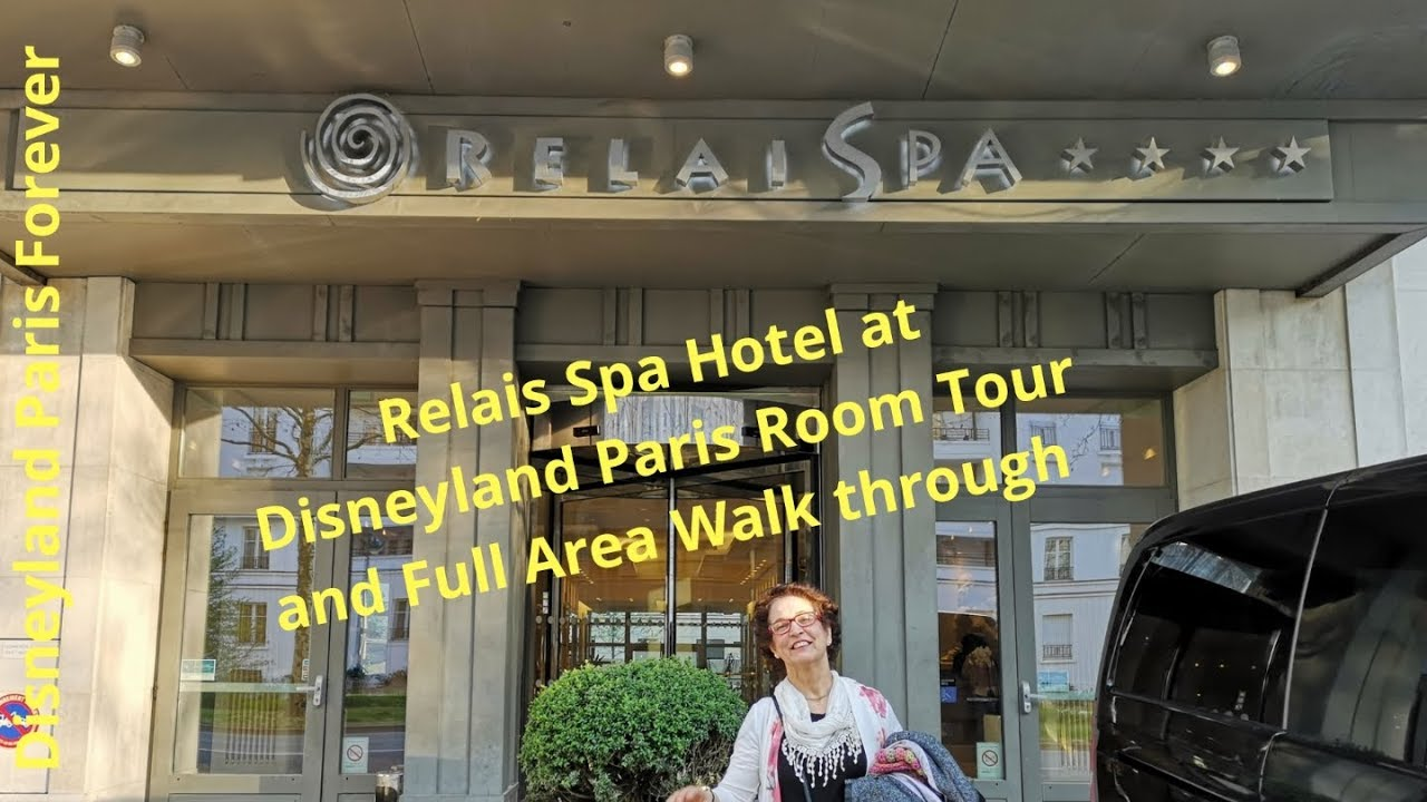 Relais Spa Val D Europe Hotel At Disneyland Paris Room Tour And