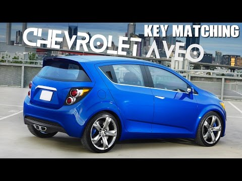 Chevrolet Aveo Key Programming Matching Using X100 Youtube