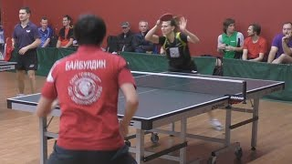 Андрей БАЙБУЛДИН - Ольга БАРАНОВА, Настольный теннис, Table Tennis