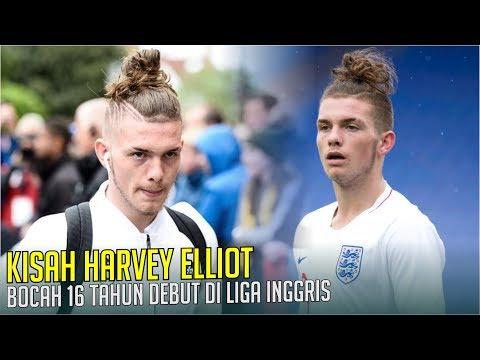 KISAH HARVEEY ELLIOT : Bocah 16 Tahun Yang Melakukan Debut Di Liga Inggris.