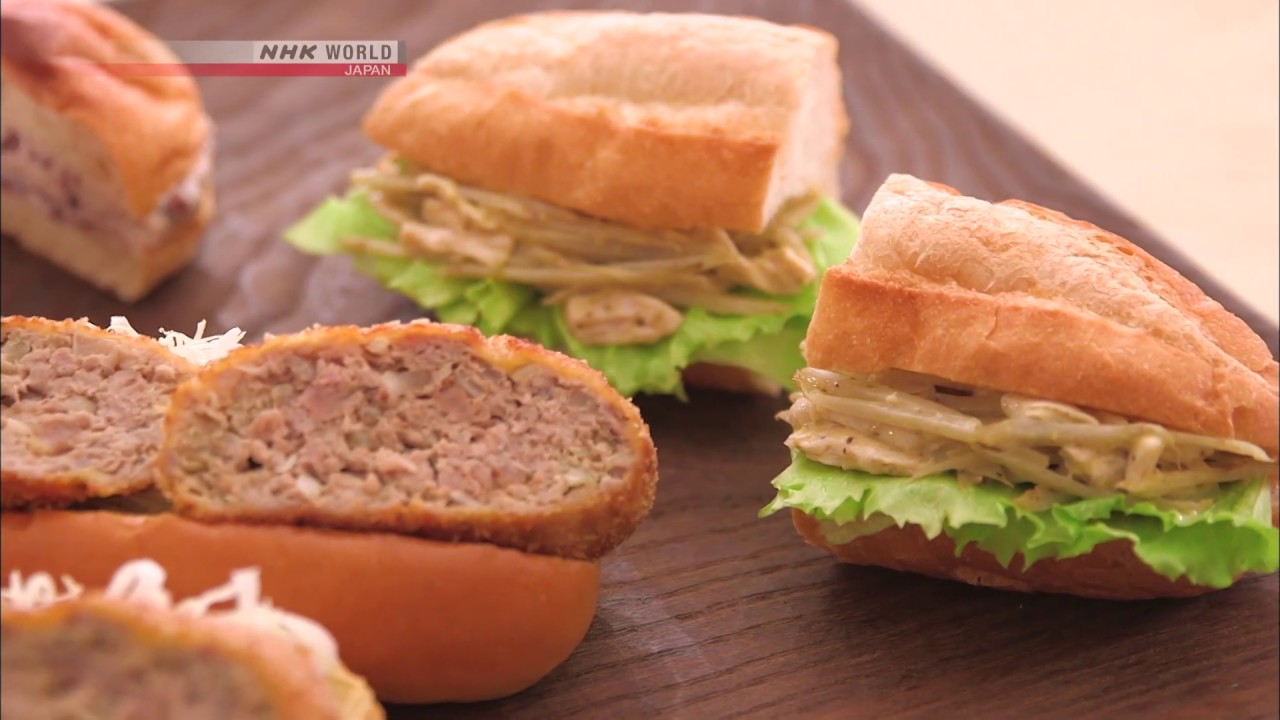 Photo of Chef Rika's Japanese Sandwich Trio [Japanese Cooking] – Dining with the Chef – video