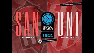 #LaLigaArgentinaBancoComafi | 18.10.2018 San Isidro vs. Unión de Santa Fe