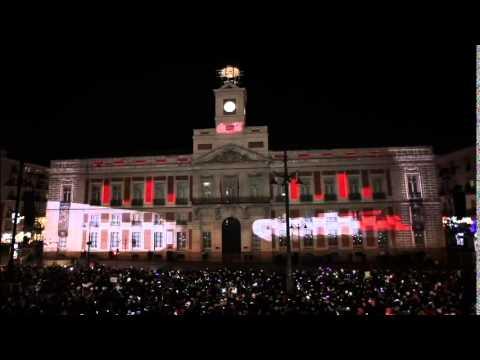 Fin de año en Puerta del Sol (Madrid)