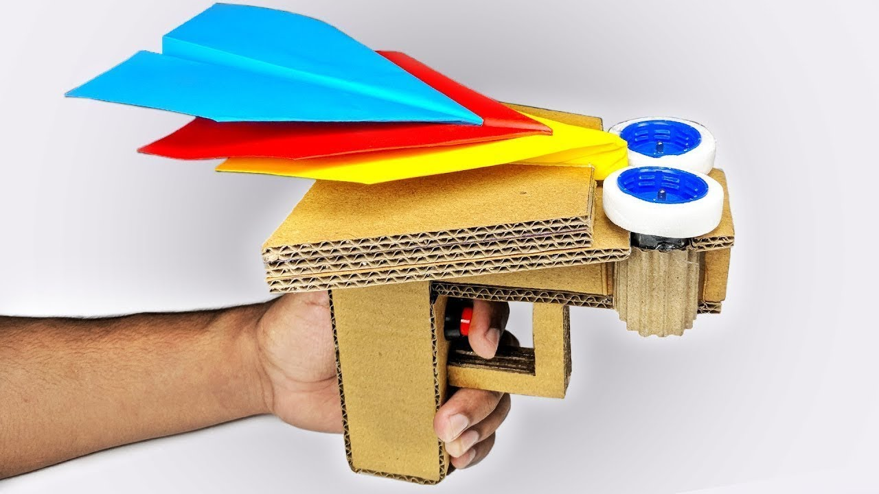 PAPER JET FIGHTER - How to make a paper airplane that FLIES FAST ... | 720x1280