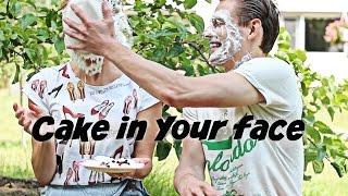 Вызов! ТОРТ В ЛИЦО! Cake In Your Face Challenge! Челендж!