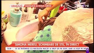Simona Mereu, schimbare de stil, in direct