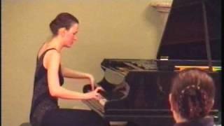 Debussy Suite Bergamasque (2/4) Menuet - Liubov Gromoglasova