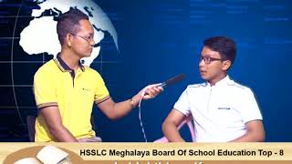 Lalduhthlana HSSLC (Meghalaya Board of School Education) Top 8 kawmna