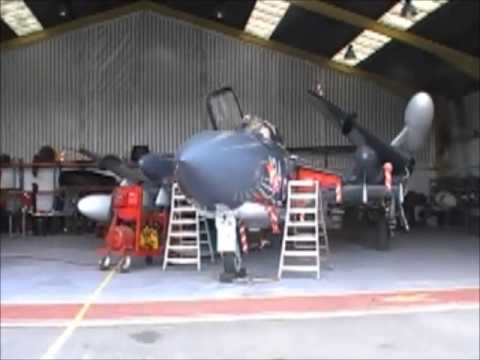 sea vixen technical bits wing fold