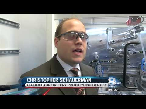 RIT on TV: RIT opens new Battery Prototyping Lab - on WROC