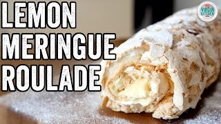 LEMON MERINGUE PIE ROULADE