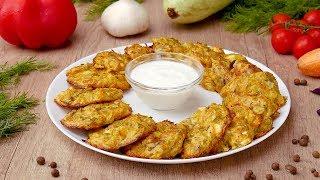 Овощные оладьи с фетой - Рецепты от Со Вкусом