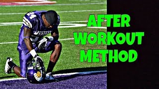 """HOW TO GET 720 WAVES: """"AFTER WORKOUT METHOD"""" WHAT YOU SHOULD DO AFTER WORKOUTS"""