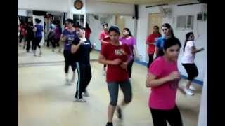 Reebok Floor aerobics class, at anujacademy, New delhi. India. www.aerobicsclassdelhi.com